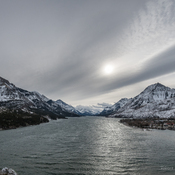 Wild clouds over Waterton Lakes National Park