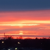 Brantford sunset