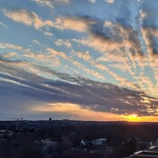 SUNSET OVER WEST END HALIFAX
