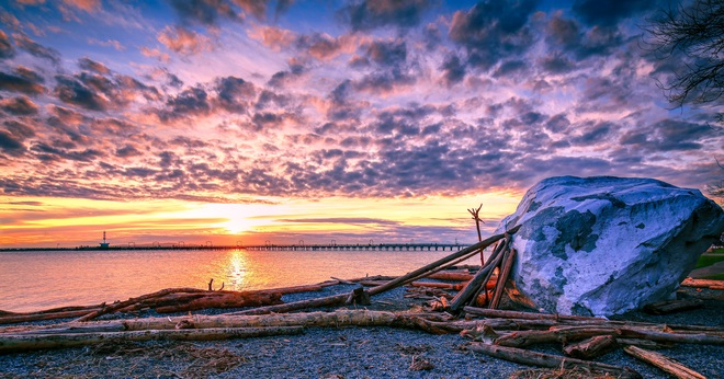 Sunset in White Rock White Rock, BC