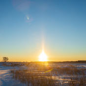 Parhelion over Winnipeg