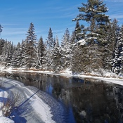 Winter rivers