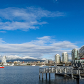 Beautiful afternoon in Vancouver