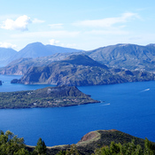 View from Vulcano Island, Sicily