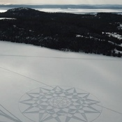 More Snow Shoe Art