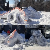 Meaford Snow Creatures!