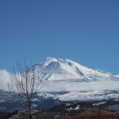 Mount Shasta on a Clear Day