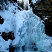 FROZEN FALLS ABOUT TO BREAK UP?
