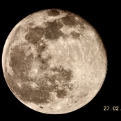 Another great night for lunar photography