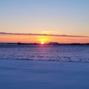 -39 C windchill sunset