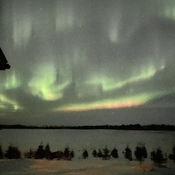 Vibrant northern lights!