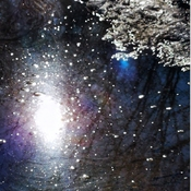 My inner universe - melting snow - March 5 2021