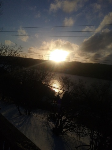 Going down of the sun on Riverhead Arm! Riverhead, S.M.B, NL