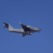 C17 does a FLY BY