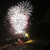 Fireworks in Gore Bay