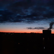 sunrise over Guelph