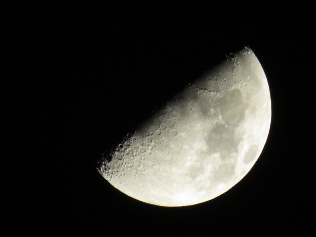 JON HAMMOND'S MOON PHOTOS AND VIDEOS SHOWING COOL CRATERS (MARCH 21, 2021) London, ON