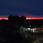 Sunrise in Sauga