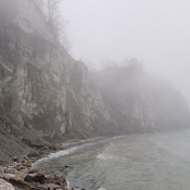 Fog At Scarborough Bluffs