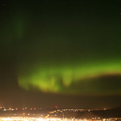 Northern lights in Cochrane