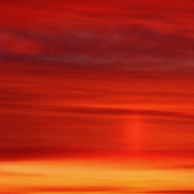 Sun Pillar When Prince Phillip Passed