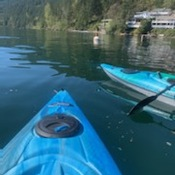 kayaking in Chilliwack BC