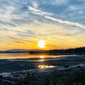 Vancouver island Sunset