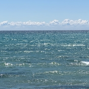 OCEAN LIKE COLOURS ON LAKE ONTARIO