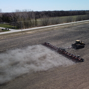 Dust farming in Manitoba