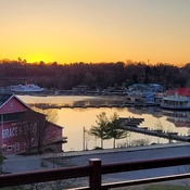 Sunrise over Muskoka Bay