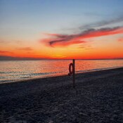 Sunset at Point Pelee