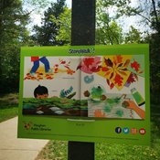 Story walk -Enjoy early summer 27C Marita Payne Park Thornhill - May 18 2021