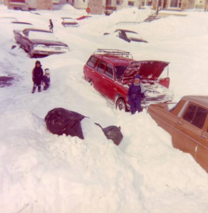 Après la tempête du siècle en mars 1971