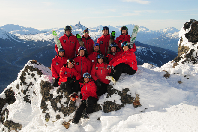 The Extremely Canadian Team Whistler, British Columbia Canada