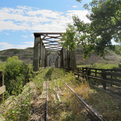 combo Bridge at East Coulee