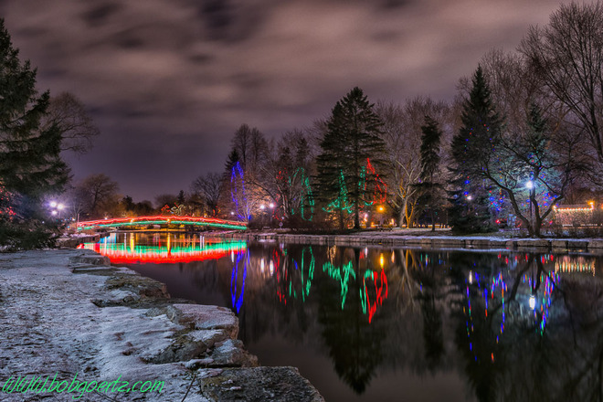 Kitchener Victoria Park Christmas Lights
